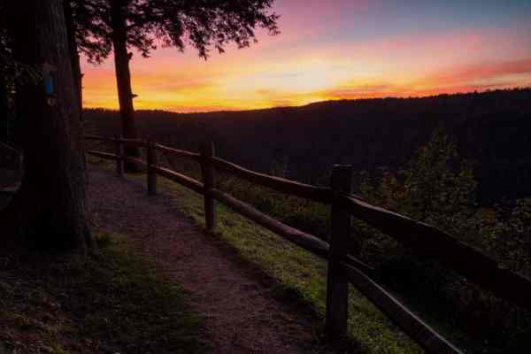 Hiking the Loyalsock Trail in Worlds in State Park