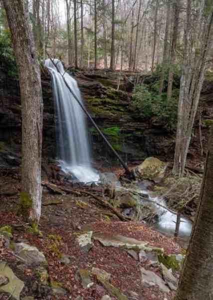 Jacoby Falls near Williamsport, Pennsylvania