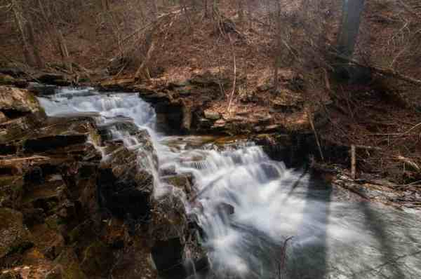 Jarrett Falls in Fulton County, PA