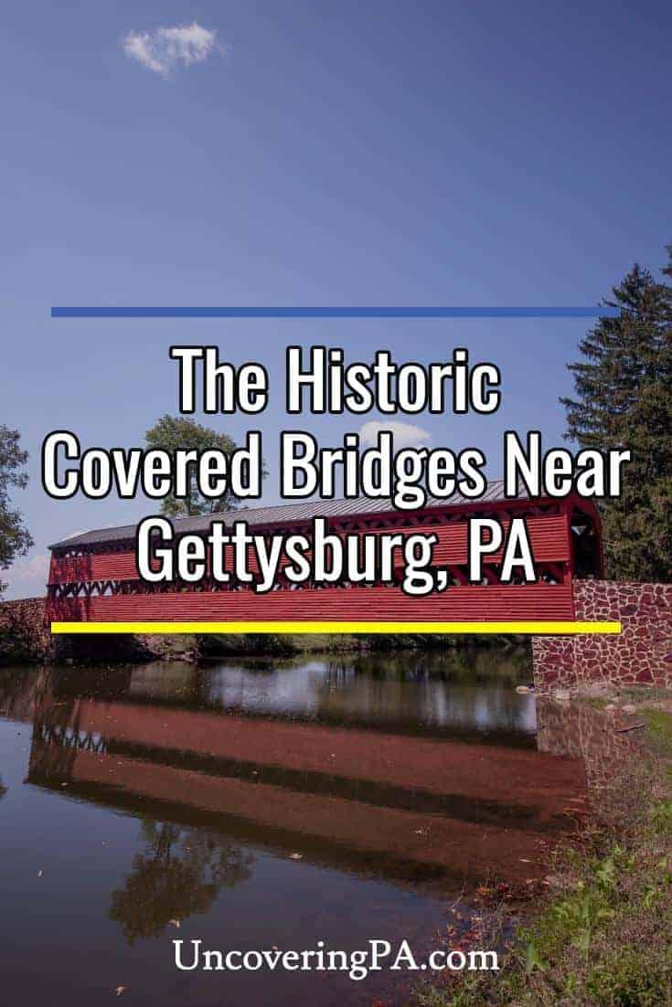 The historic Covered Bridges near Gettysburg, Pennsylvania