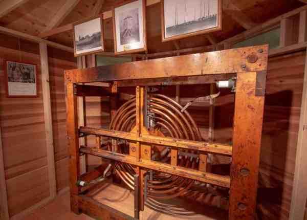 KDKA equipment at the Saxonburg Museum
