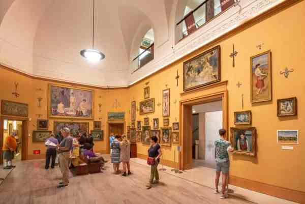 The Barnes Foundation Museum in Philly