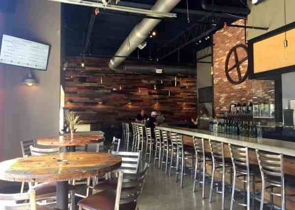 Inside Butler Brew Works near Pittsburgh, Pennsylvania