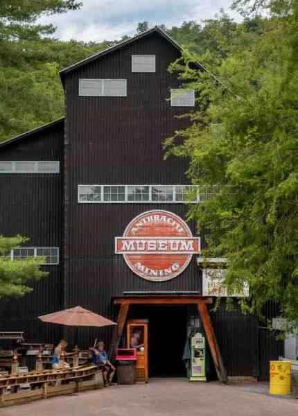 Anthracite Museum at Knoebels Amusement Resort in Pennsylvania