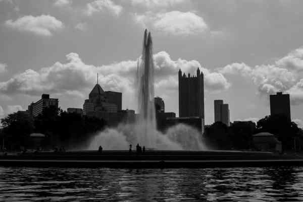 Views from the Just Ducky Tours in Pittsburgh, PA
