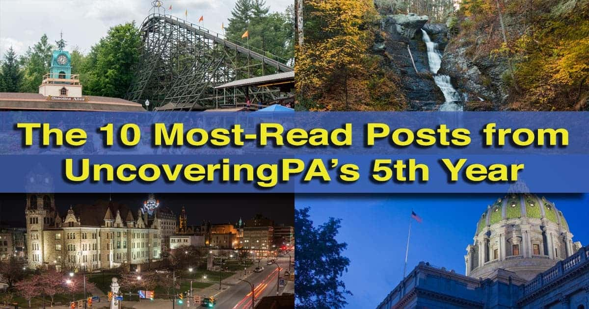 UncoveringPA fifth anniversary posts