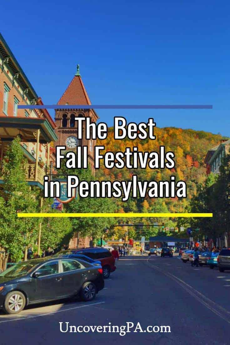 The Best Fall Festivals in Pennsylvania #autumn