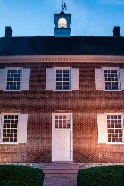 Colonial Courthouse in York, Pennsylvania