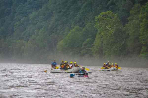 White Water Rafting for Families in Ohiopyle, PA