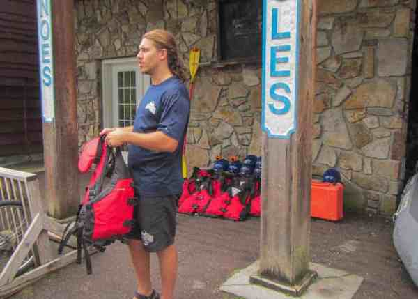 Guide with White Water Adventures in Ohiopyle, PA