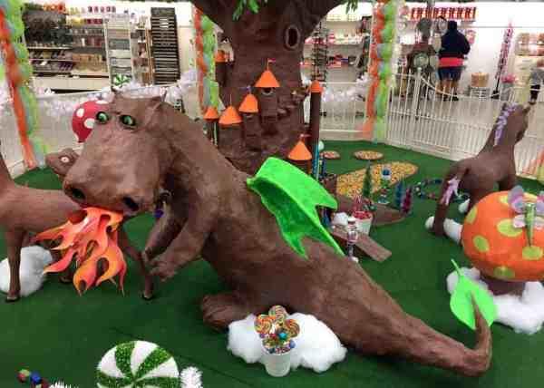 Dragon at Daffin's Chocolate Kingdom in Sharon, PA