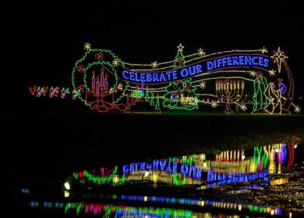 Displays at Hershey Sweet Lights in PA