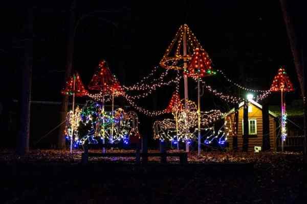 Carousel at Hershey Sweet Lights near Harrisburg, PA