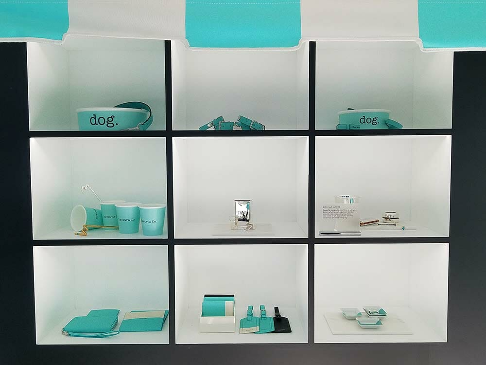 04e273b877915 Luxe Charms, Chic Dog Bowls, More: Inside Tiffany & Co.'s First West ...