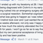 Uncover Ostomy Don Ferguson Acceptance