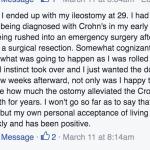 Uncover Ostomy Don Ferguson Acceptance