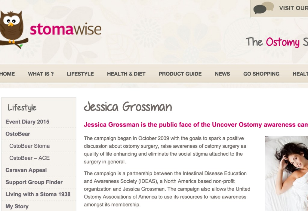Uncover Ostomy StomaWise 08-24-2011