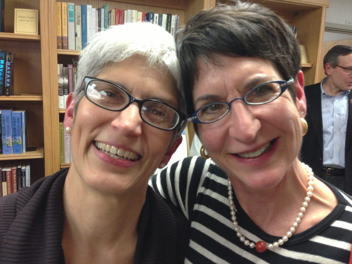 Heidi Perov, Marcie Cohen Ferris (photo by William Ferris)