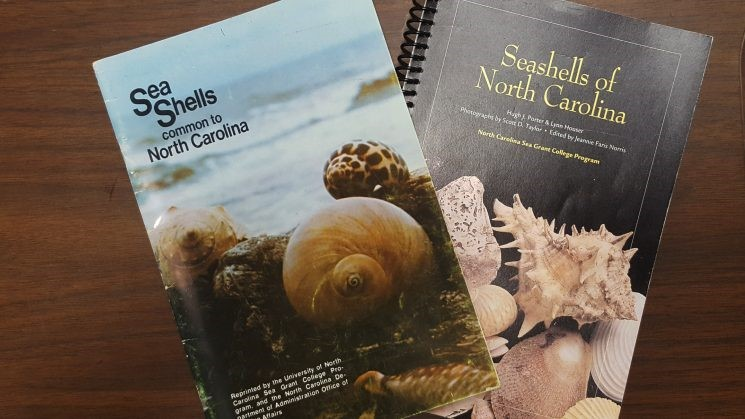 2 books by Mr. Seashell/Hugh Porter