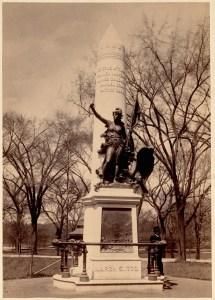 """Crispus Attucks Statue. Boston Common."""