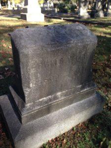 Walker's Gravestone