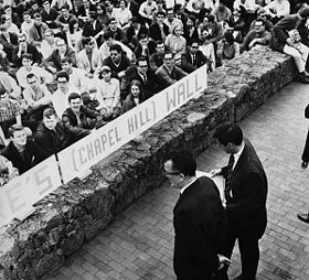 1966 Speaker Ban law protest at UNC-CH