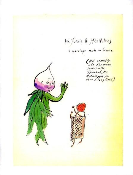 """Mr Turnip & Miss Nutmeg"" by Eugene Walter"