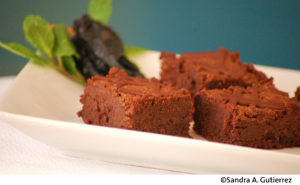Chile-Chocolate Brownies, by Sandra A. Gutierrez