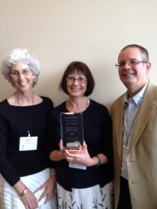 Vicky Wells receives 2012 AAUP Constituency Award