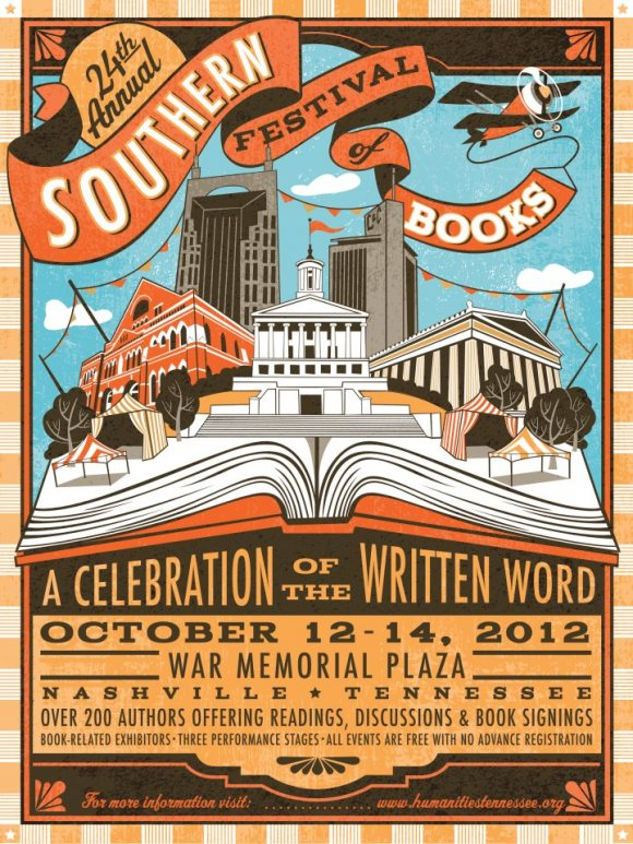 The Southern Festival of Books, October 12-14, 2012