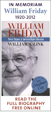 William Friday, 1920-2012