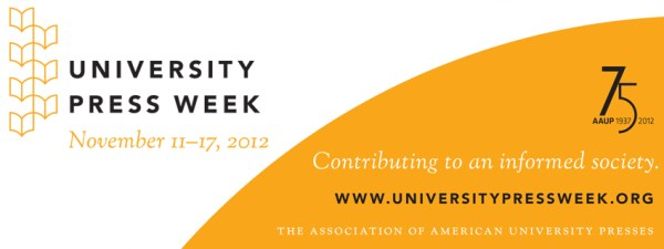 University Press Week, Nov. 11-17, 2012