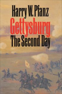 Cover of Gettysburg: the Second Day, by Harry W. Pfanz