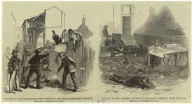 Image of the Mechanics' Institute Riot