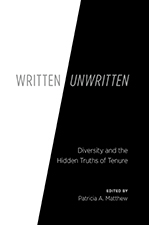 cover photo fro written/unwritten by patricia a. matthew