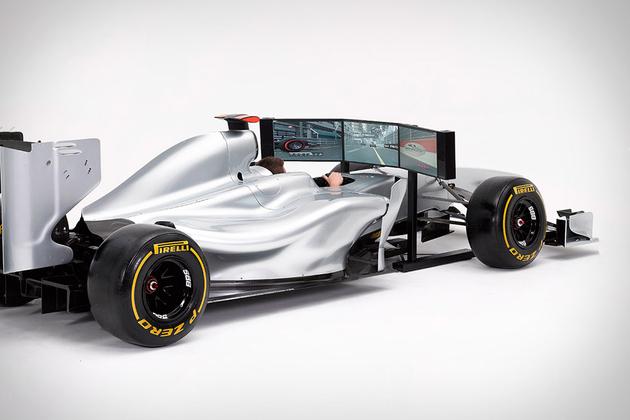 Formula 1 Full Size Racing Simulator