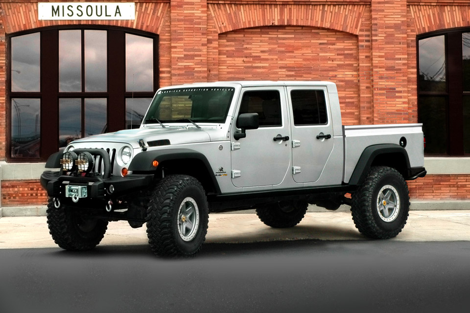 AEV Brute Double Cab Jeep Pickup | Uncrate