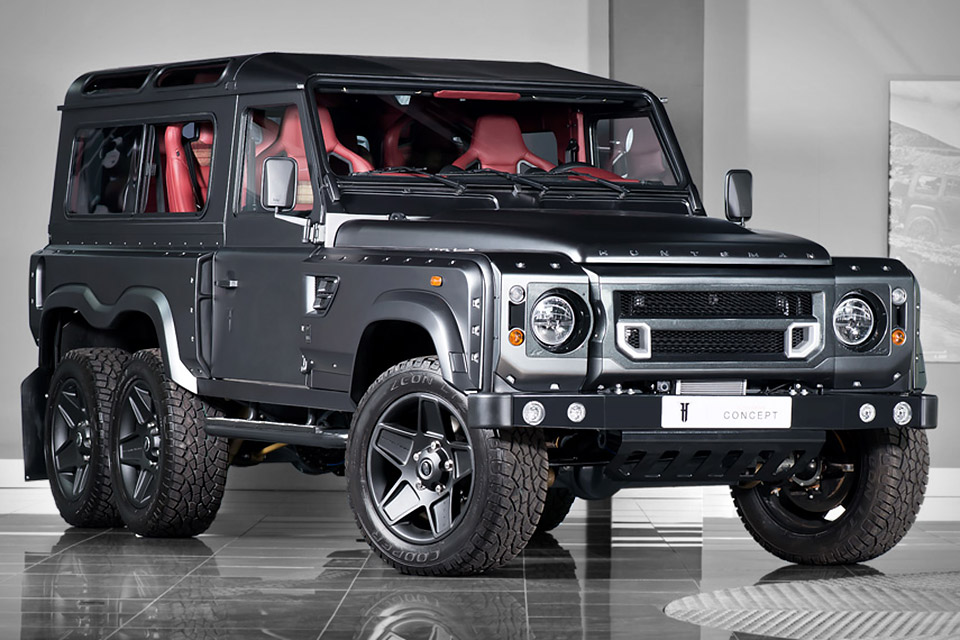 Ok I want e KAHN LAND ROVER DEFENDER 6X6 Page 1