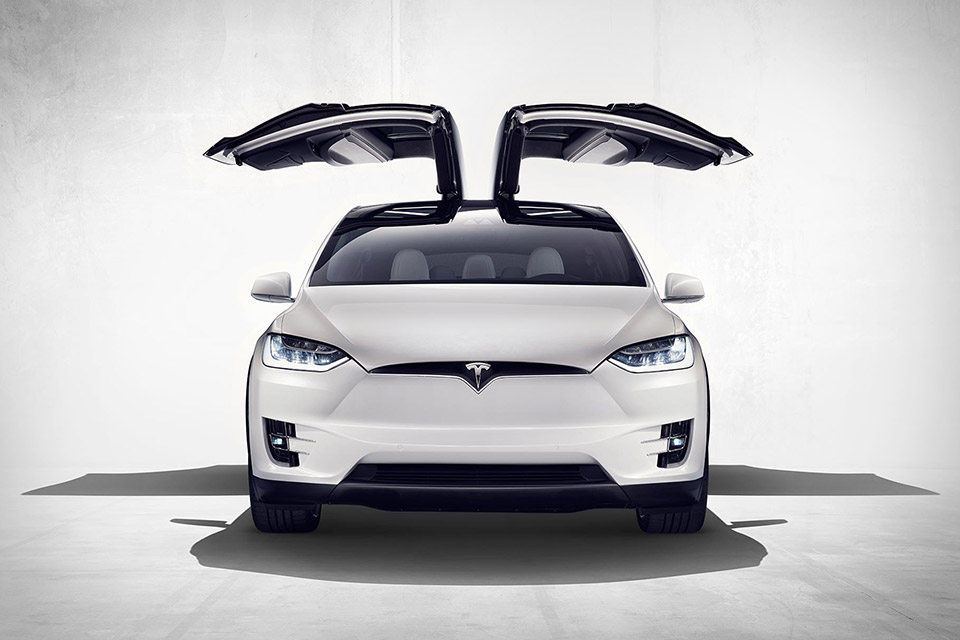 Inspiration: Tesla Model X via Uncrate