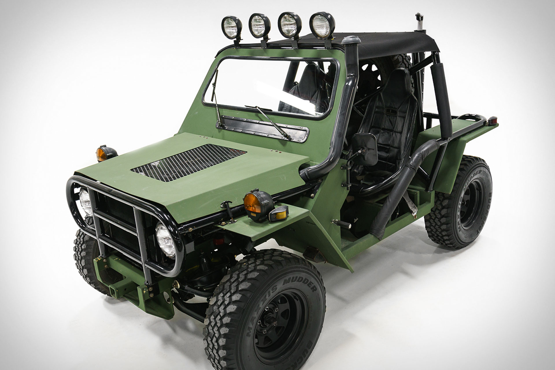 1975 M151a2 Wolverine Truck Uncrate
