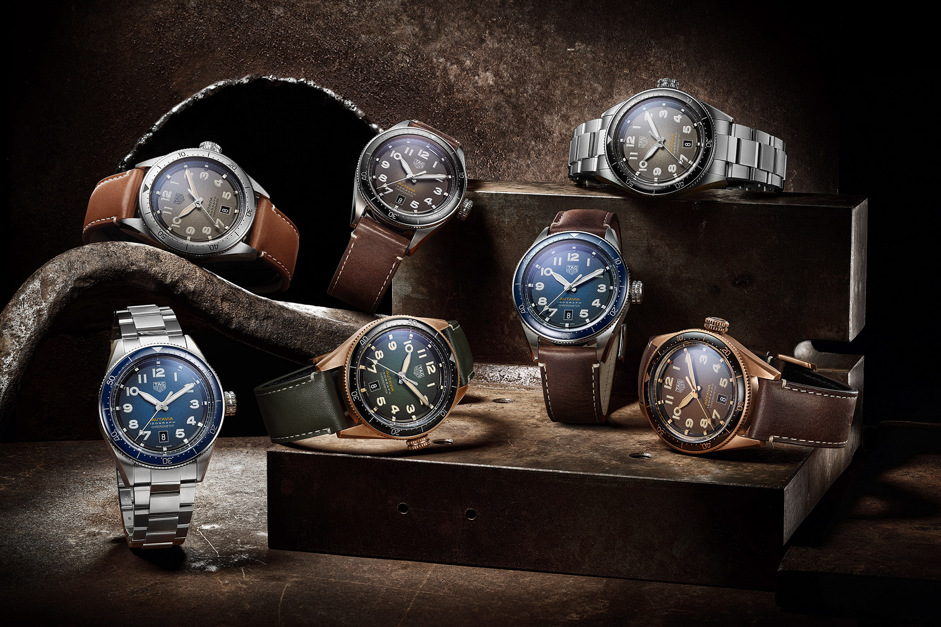 TAG Heuer Autavia Watch Collection