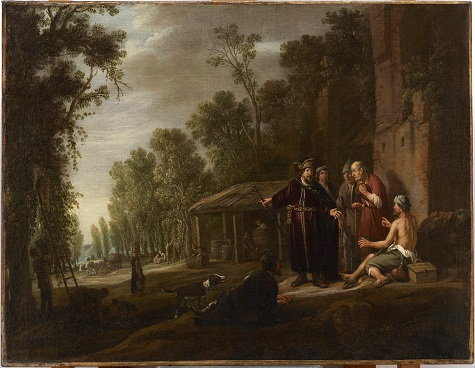 Nicolaes Cornelisz Moeyart, The Parable of Workmen in the Vineyard, c. 1637, oil on canvas, Dallas Museum of Art, The Karl and Esther Hoblitzelle Collection, gift of the Hoblitzelle Foundation