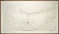 "James Surls, ""Through the Point Cloud,"" 1984, graphite on paper, Dallas Museum of Art, Foundation for the Arts Collection, anonymous gift, 1991.125.FA, © James Surls"