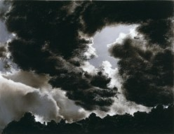 "April Gornik, ""Circling Cloud,"" 1984, pastel and charcoal on paper, Dallas Museum of Art, Foundation for the Arts Collection, anonymous gift, 1991.120.FA, © 1984 April Gornik"