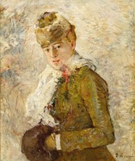 Berthe Morisot, Winter (Woman with a Muff), 1880, oil on canvas, Dallas Museum of Art, gift of the Meadows Foundation, Incorporated 1981.129