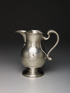 John Williamson, Beer Jug, 1763, silver, Dallas Museum of Art, The Karl and Esther Hoblitzelle Collection, gift of the Hoblitzelle Foundation, 1987.75
