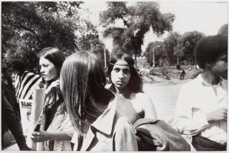 "Garry Winogrand, ""Untitled (Central Park),"" from the series ""Women are Beautiful,"" 1975, gelatin silver print, Dallas Museum of Art, gift of Paul Brauchle, 1995.153"