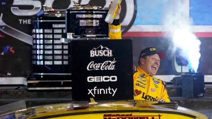 McDowell Shocks the World & Wins The Daytona 500