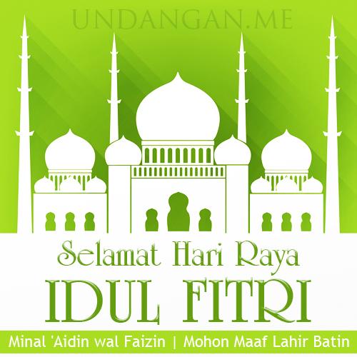 Background Halal Bihalal Idul Fitri Undangan Me