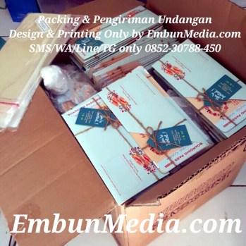 Undangan Unik Cantik Bentuk Tiket Pesawat by Embun Media